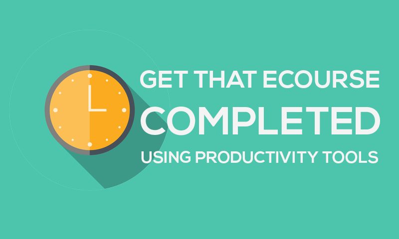 A Simple Productivity Tool to Help You Get Your eCourse Started and Completed