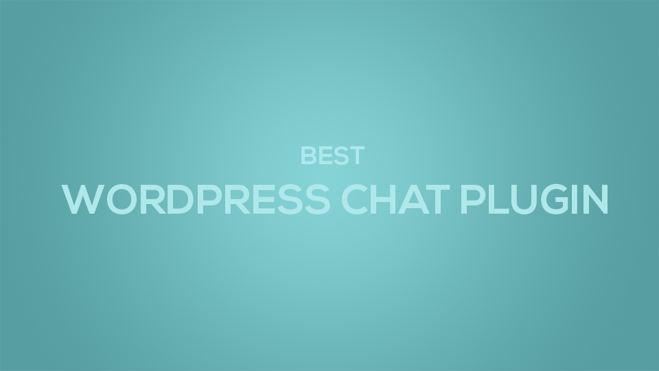 Plugin WordPress Chat Room