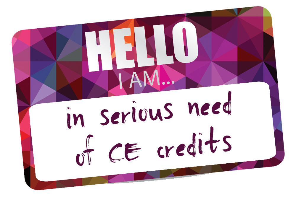 Keeping track of your CE Credits