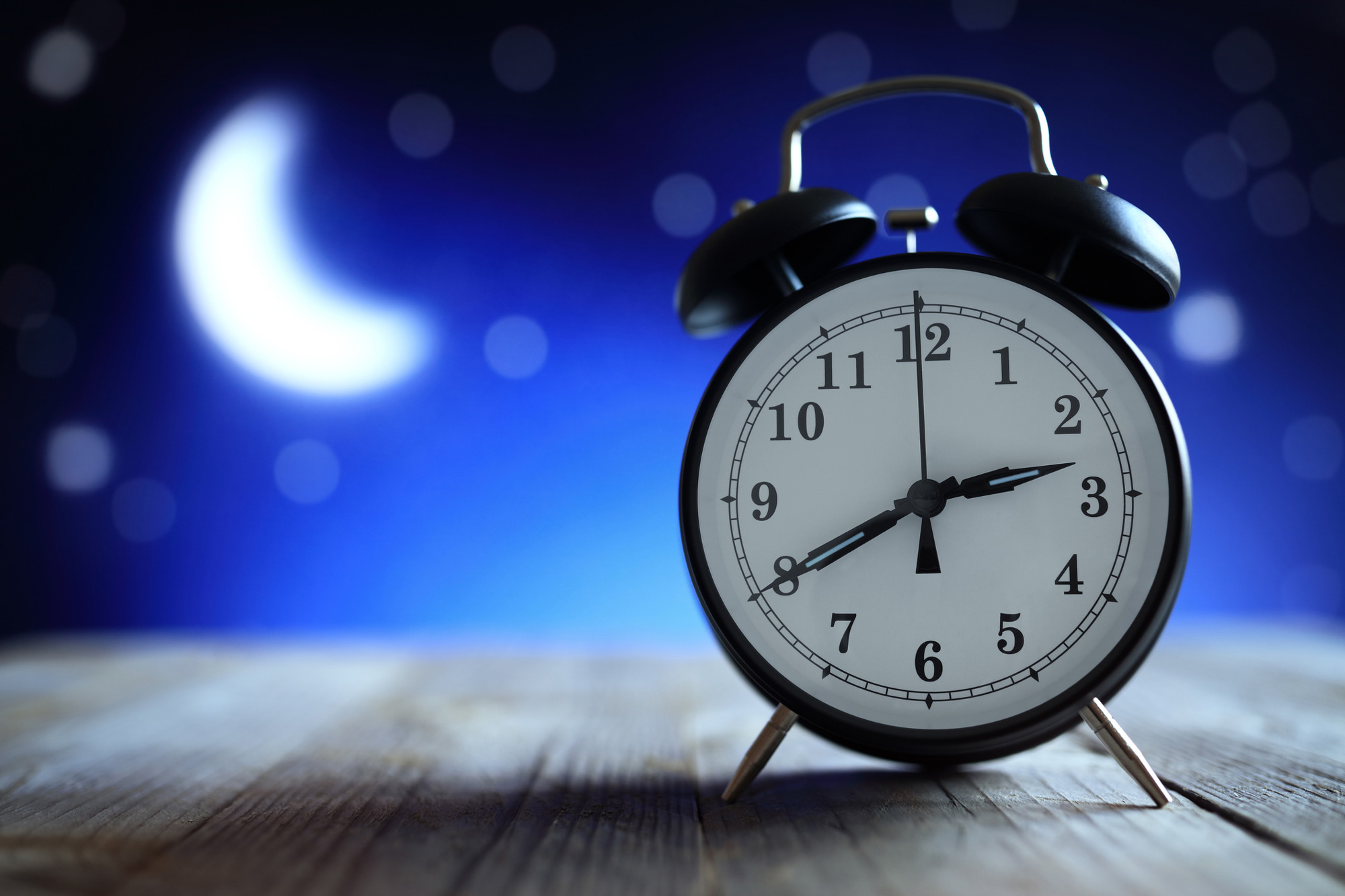 alarm clock and moon website selling CME continuing medical education online courses with LMS eLearning platform